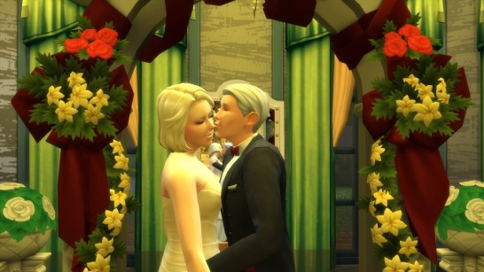 Burke and Brystle finally married